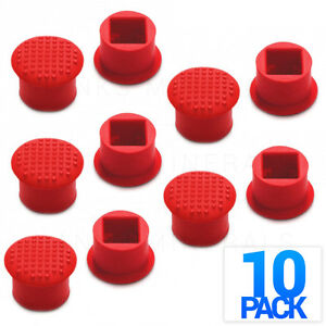 10-Pack TrackPoint Cap Red For Lenovo Thinkpad IBM T410 T420 T430 T510 T520 X61