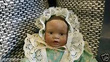 Ashton Drake Porzellan Mini Baby Puppe Danielle Erste Ausgabe Yolanda Bello 1996