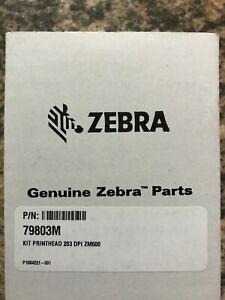 Genuine Zebra ZM600 Printhead 203 dpi (79803M) New Sealed