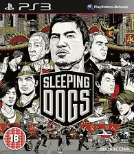 Sleeping DOGS PS3 PLAYSTATION 3 PLAY STATION