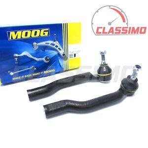 Moog Track Tie Rod End Pair for NISSAN JUKE + LEAF + NV200 - 2010 to 2019