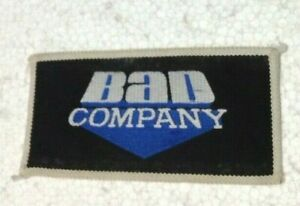 Bad Company vintage 1970s SEW-ON PATCH