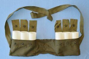Australian Army Bandolier M79 Vietnam era complete with Egg Cups