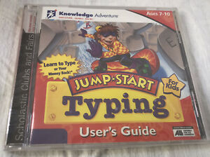 NEW 1997 Jump Start Typing User's Guide PC Game CD-ROM Windows/Mac SEALED