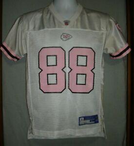 NFL Kansas City Chiefs Gonzalez #88 OnField Reebok Youth Jersey Girls Size L-14