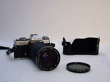 VTG Minolta XD11 35mm film camera-Vivitar Lens 28-135mm Macro focusing Zoom