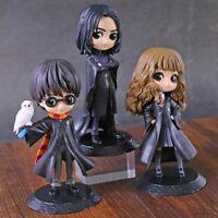 Figure Cute Big Eyes Harried Hermione Snape PVC Anime Dolls Potter Posket Action