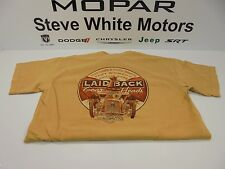 Laid-Back USA T Shirt Gables Fink Rat Rod Gear Heads Ford Monarch Yellow 2XL
