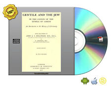 The Gentile and the Jew in the courts of the Temple of Christ by Döllinger CDROM