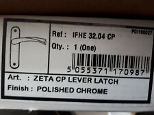 ZETA CP LEVER LATCH POLISHED CHROME- Door Handle