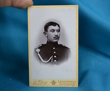 CDV Foto German Army Deutsches Heer Soldier 106th Saxon Infantry Regiment c1900