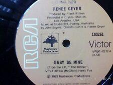 RENEE GEYER-BABY BE MINE-7'' SINGLE