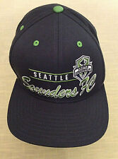 Seattle Sounders FC Adidas Cap Hat Snap Back Mint Condition Beautiful Soccer