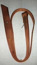 Web Latigo Tie Straps & Off Billet for Girth Cinch Western or Halfbreed Saddle b