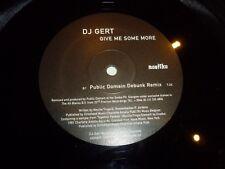"DJ GERT - Gove me some More - 1981 UK 3-track 12"" Vinyl Single"