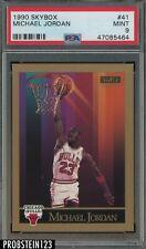 1990 Skybox #41 Michael Jordan Chicago Bulls PSA 9 MINT