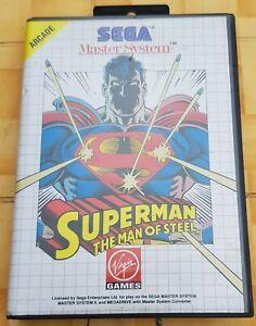 Jeu Sega Master System Superman The Man of Steel