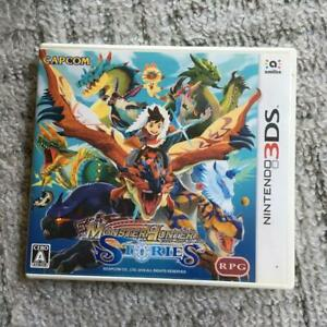 used Monster Hunter Stories Nintendo 3DS Game software Action role playing games