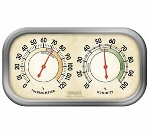 Taylor 90113-1 Springfield 90113-1 Humidity Meter & Thermometer Combo (901131)