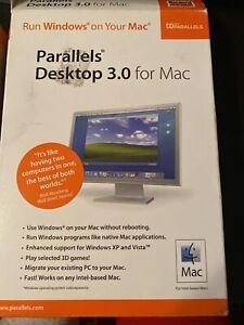 Parallels Desktop 3.0 For Mac Run Windows on Your Mac  Very Good- S
