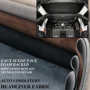 Foam Roof Lining Fabric Repair Synthetic Suede RV Truck Van Headliner Upholstery