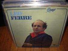 LEO FERRE self titled ( world music ) france - barclay 80333 -