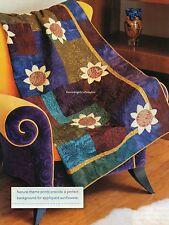 Sunflowers Quilt Pattern Pieced/Applique MS