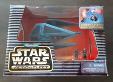 Star Wars Micro Machines Action Fleet Tie Interceptor Vehicle / Imperial Pilots
