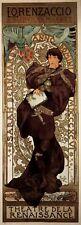 Repro Art Nouveau 'Lorenzacchio ' by Alphonse Mucha
