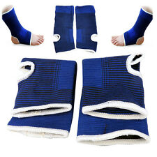 Ankle Support 2 X Elastic Ankle Brace Support Band Sports Gym Protects Therapy