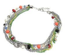 Modeschmuck-Halsketten & -Anhänger im Collier-Stil aus Kunststoff für Damen