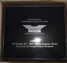 CORGI AVIATION 1:72 H.P HALIFAX AV 2007 150 LTD EXCLUSIVE MODEL (RARE)