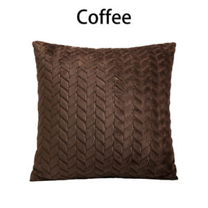 Velvet Pillow Case Throw Cushion Cover Sofa Living Room Pillow Cover Room Decor