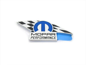 MOPAR PERFORMANCE DODGE JEEP CHRYSLER DECAL EMBLEM NAMEPLATE OEM GENUINE NEW