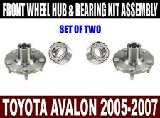 Toyota Avalon Front Wheel Hub and Bearing Kit Assembly 2005-2007  SET OF TWO
