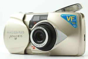 [Near MINT] Olympus μ mju ii 115 VF 35mm Point & Shoot Film AF Camera From JAPAN