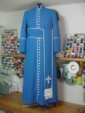 Custom Vestments; Cassock with Cincture