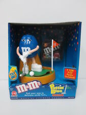 M&M M&M's Puttin GOLF BLUE dispenser with BOX IN STOCK <FREE SHIPING>