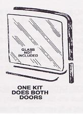 Ford Pickup Truck Window Channel Kit 1961-1966