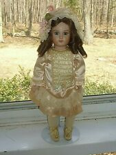 Antique French Bisque Steiner Reproduction Doll by Artist Shirley Antoon (D9 21)