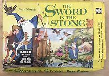 Sword In The Stone Jigsaw Disney 1963 Tower Press