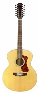 Guild 12-String Acoustic Electric Guitar - Maple Natural