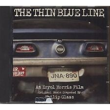 PHILIP GLASS - The thin blue line - CD OST 1988 COME NUOVO UNPLAYED