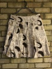 Prada skirt leather inserts size 10