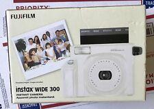 Fujifilm Instax Wide 300 Instant Film Camera - WHITE - BRAND NEW