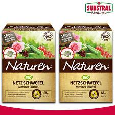 Substral Naturen 2x 60g Netzschwefel Mehltau-Pilzfrei (Chaque 6 Sachets 10g)