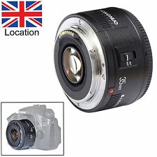 Yongnuo YN35mm EF 35mm Fixed Lens F/2.0 AF MF Focus Wide Angle for Canon EOS UK