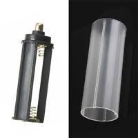 1pcs 18650 Batterie Rohr + AAA Batteriehalter Set Für LED Taschenlampe Lampe Nue