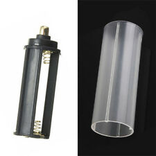 1PCS 18650 Battery Tube + 1PCS AAA Battery Holder for Flashlight Torch Lamp @UP