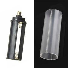 1PCS 18650 Battery Tube + 1PCS AAA Battery Holder for Flashlight Torch Lamp New
